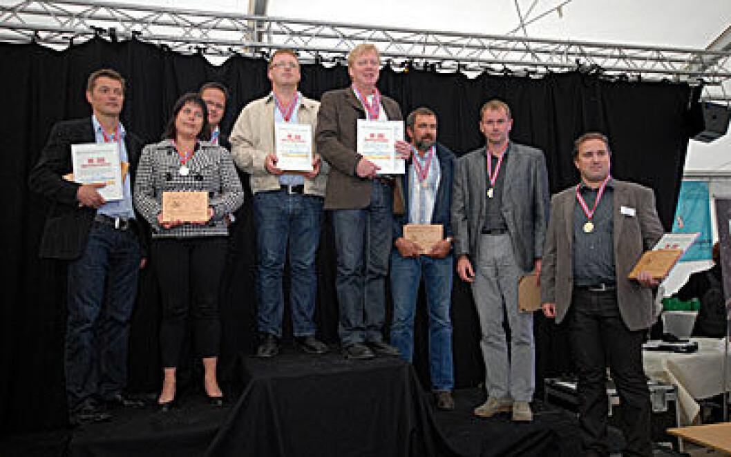 NMi Sjømat Matfestivalen vinnere