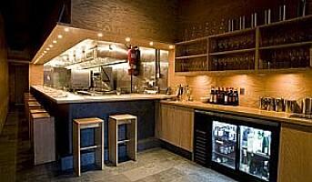 Momofuku Ko, trendy liten restaurant i New York