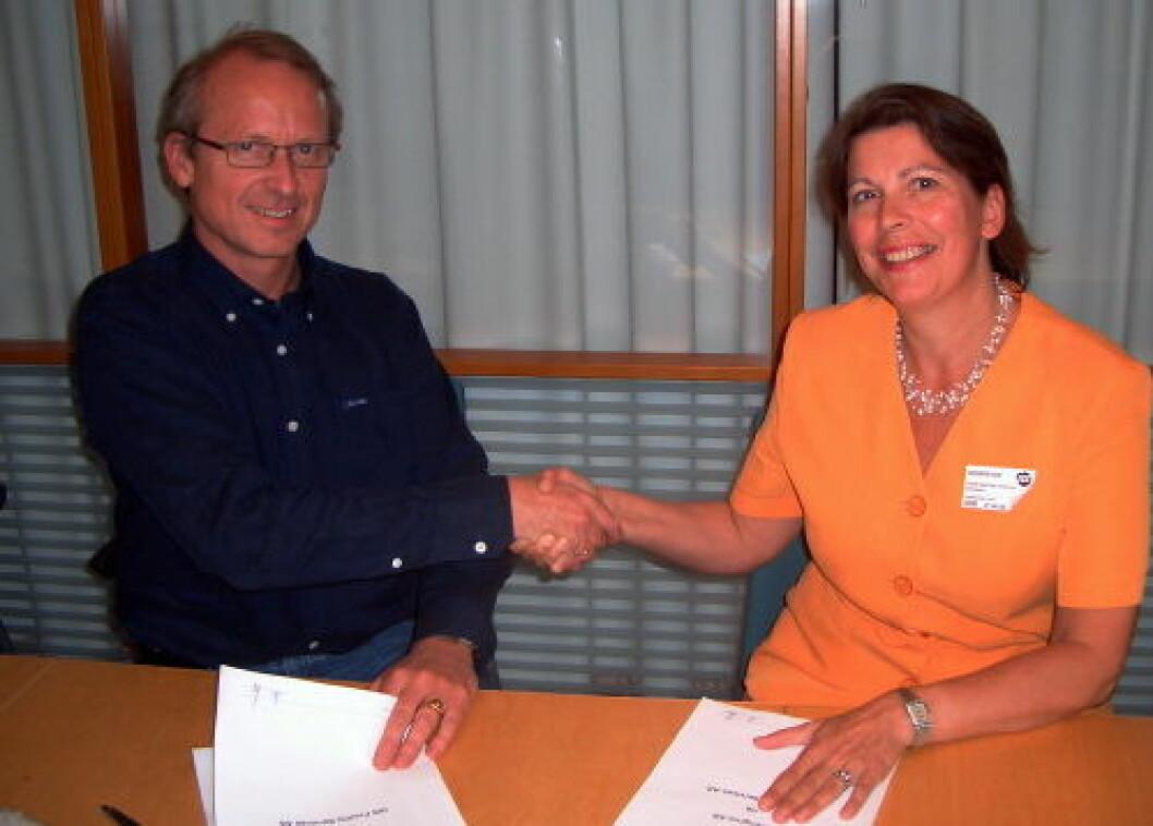 Norengros signering ISS NETT