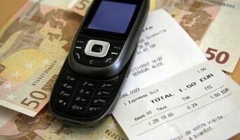 Betal restaurantbesøket med mobilen