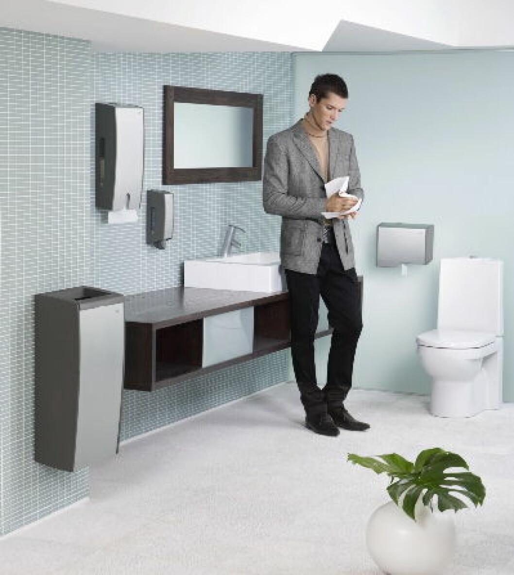 Rene toalett aluminium