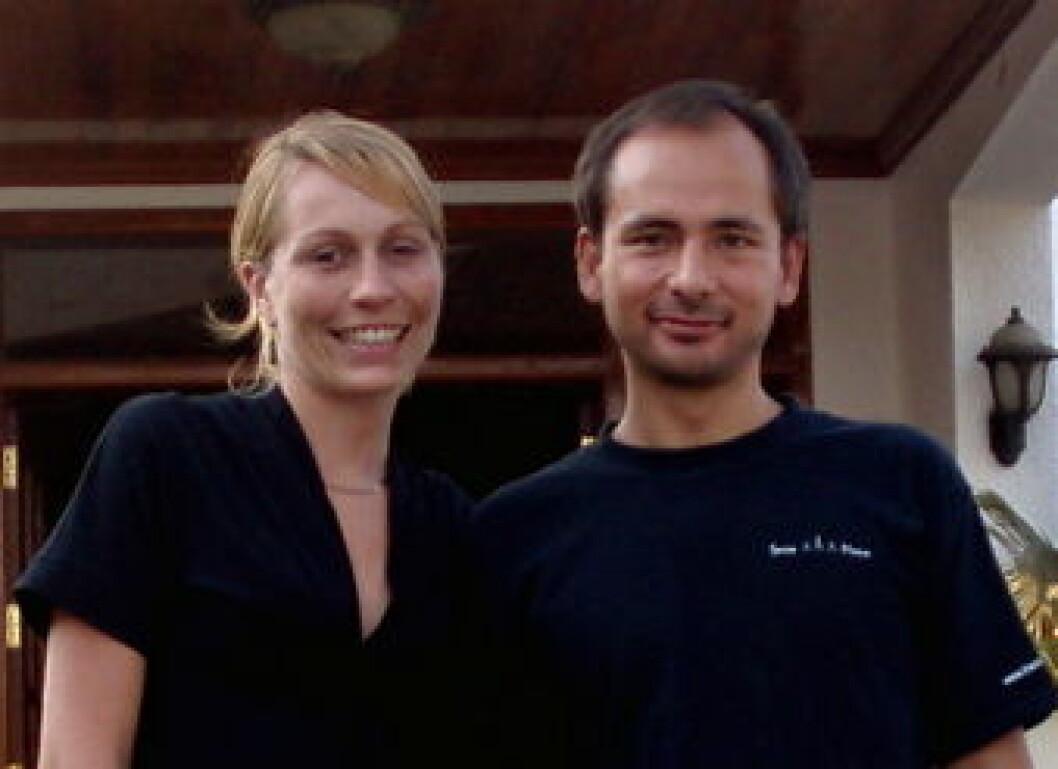 Kristin og Ken Soria Moria nett
