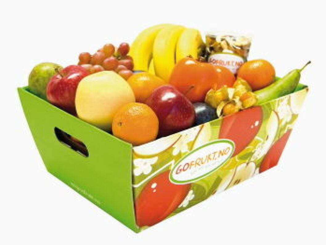 Gofrukt Fruktkurv