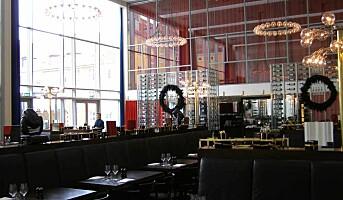 RESTAURANT BLEU: Den ekstravagante restaurant