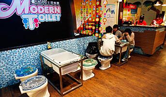 Toalettrestauranter selger