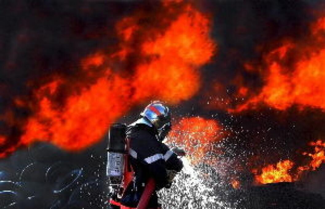 Brannsik Illustrasjonsfoto brann Colourbox