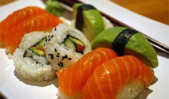 Rett sushi med RFID