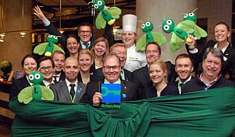 Første norske hoteller med Green Key-merking