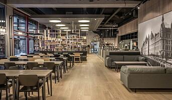 Design inn i personalrestaurantene