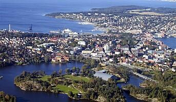 Kåret til Norges minst romantiske by