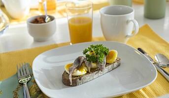 Klippfisk og egg er påskemat