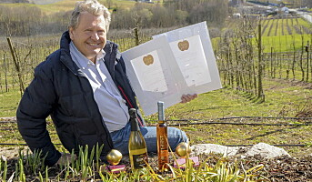 To priser til Egge gård under internasjonal cidermesse