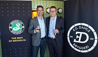 Brooklyn Brewery blir partner i E.C. Dahls Bryggeri
