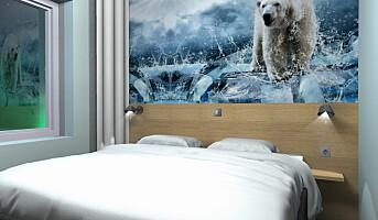 Isbjørnene inntar Thon-hotell