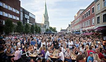 Restauranter bak «Sommer på Torvet» i Kristiansand