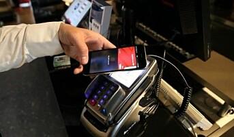 Blir først i Norden på med Apple Pay