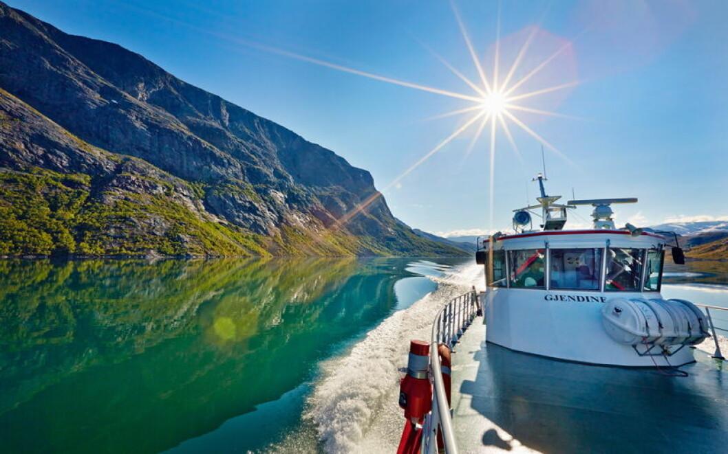 Gjendine Gjendebåtene (Foto - Gjendebåtene)
