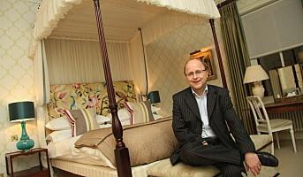 Leder hotellgruppe på de britiske øyer