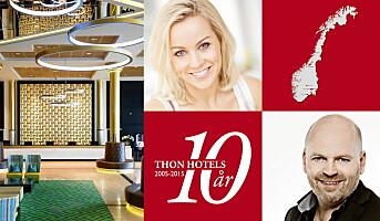 Thon Hotels jubilerer landet rundt