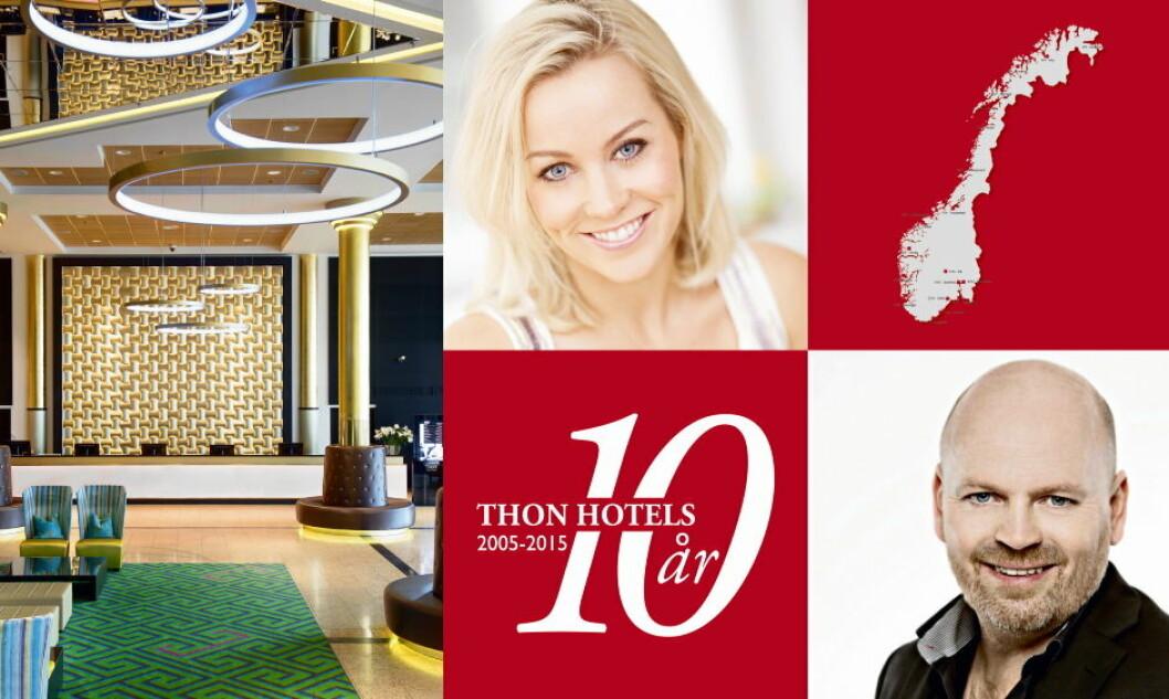 Thon Hotels 10 år jubileumsturne