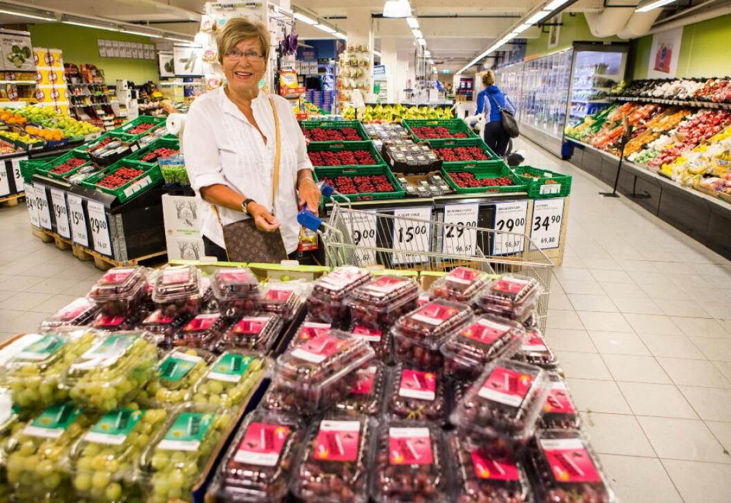 Grete Bjøntegaard frukt grønt Foto Johnny Syversen