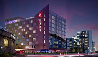 Glasgow får Europas første Radisson Red-hotell