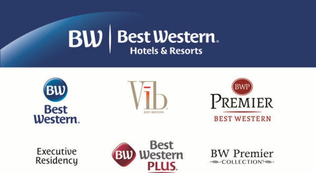 Best Western logo logoer 2015