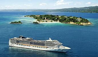 MSC Cruises er blitt størst i Europa
