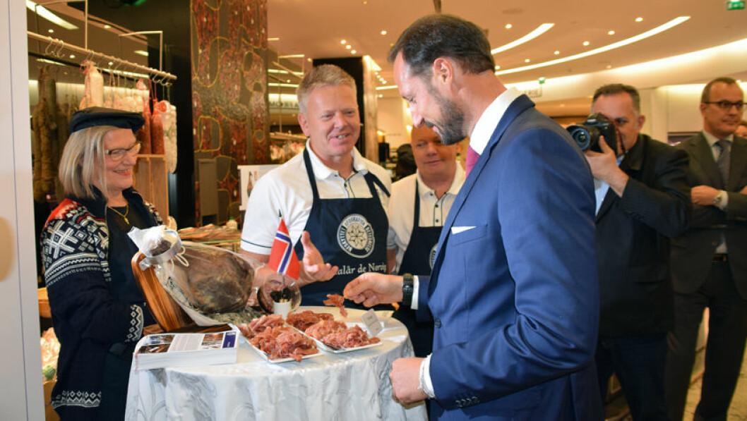 Fenalaar Kronprins Haakon Matmerk