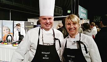 Selger restaurant- og matfag på yrkes- og utdanningsmessen