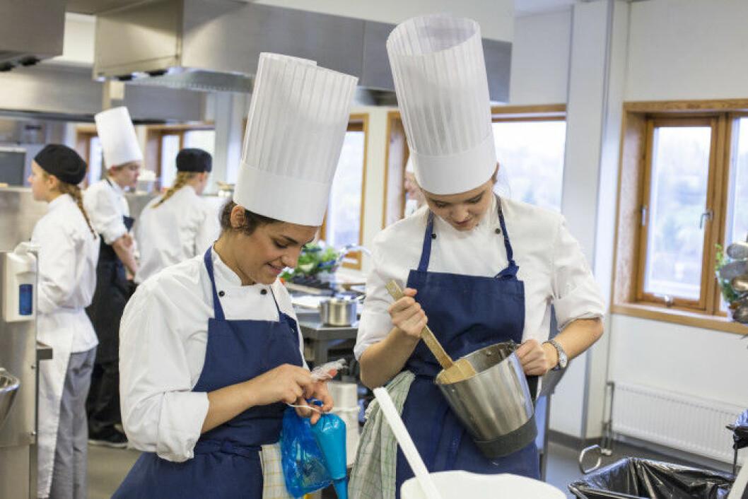 Scandic lærlinger unge kokker