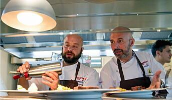 49 Michelin-stjerner, 200 kokker, 430 Figgjo-tallerkener