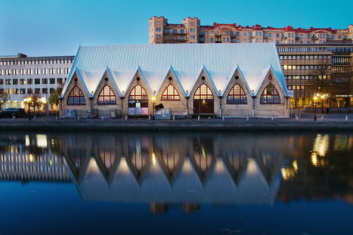 Feskekörka i Göteborg. (Foto: Tina Stafren)