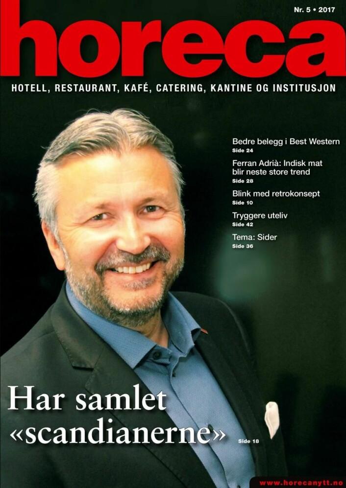 Horecas femte utgave i 2017. (Foto: Morten Holt/layout: Tove Sissel Larsgård)