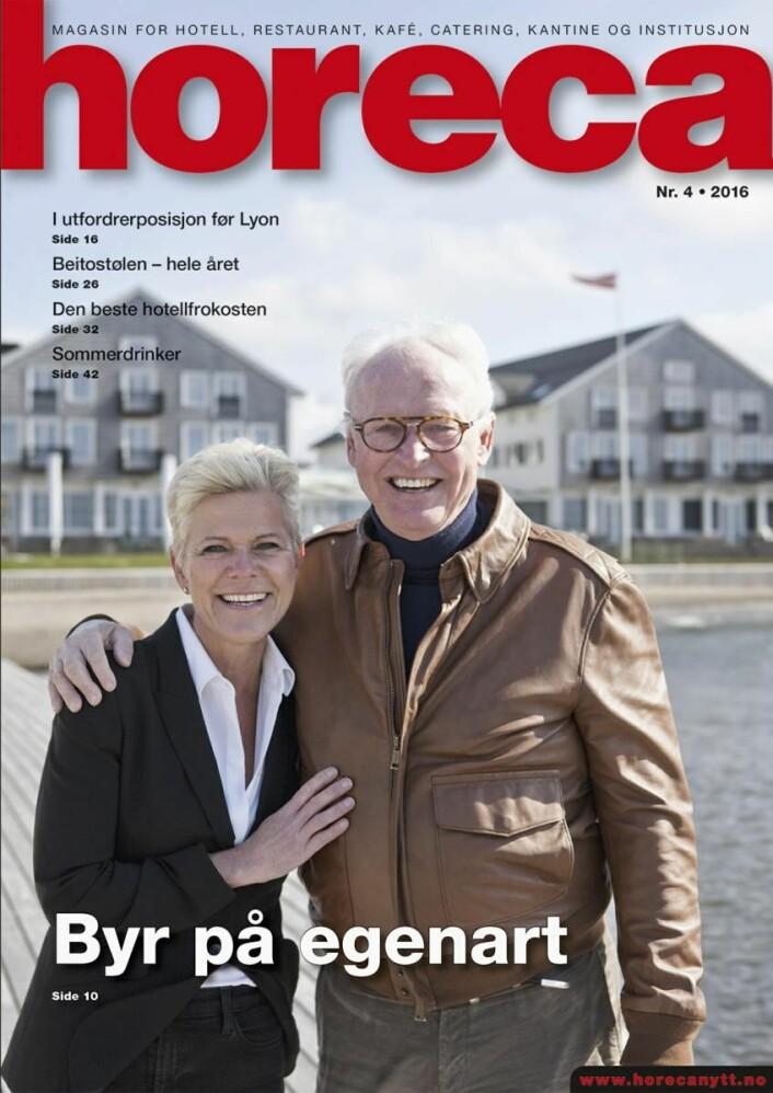 Horeca nummer 4 2016. (Foto: Therese Fische/Layout: Tove Sissel Larsgård)
