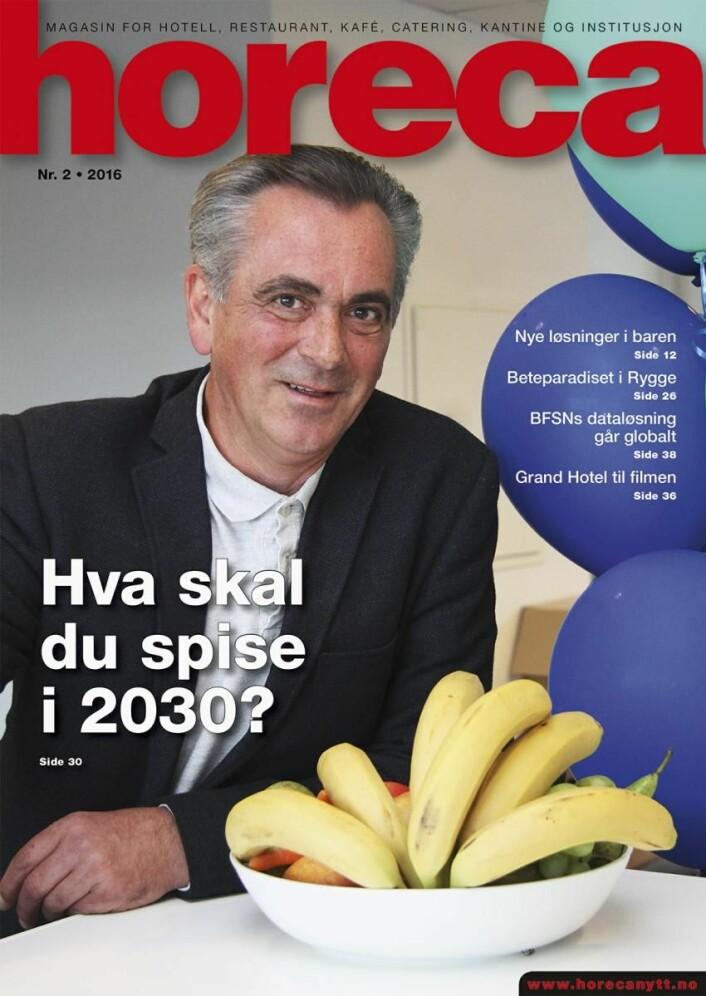 Horeca nummer 2 2016. (Foto: Morten Holt/Layoout: Tove Sissel Larsgård)