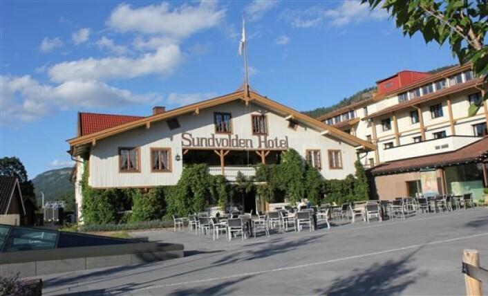 Sundvolden Hotel i Buskerud.