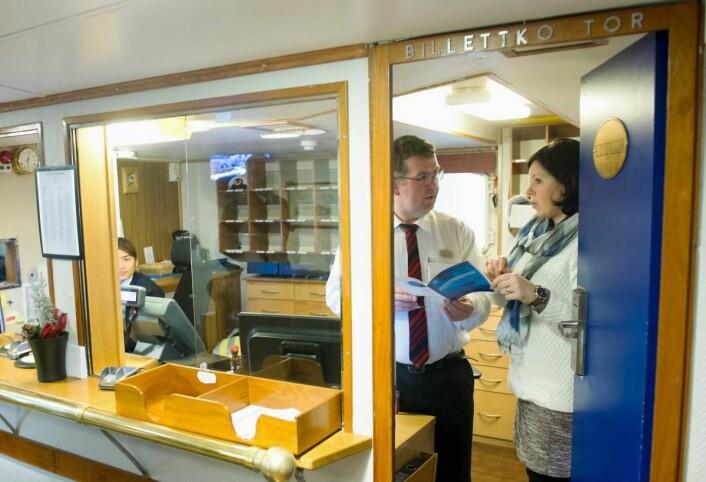 Flere av de ansatte på MS L<em>ofoten</em> er veldig interesserte i å formalisere kompetansen sin. (Foto: Marit Hommedal)