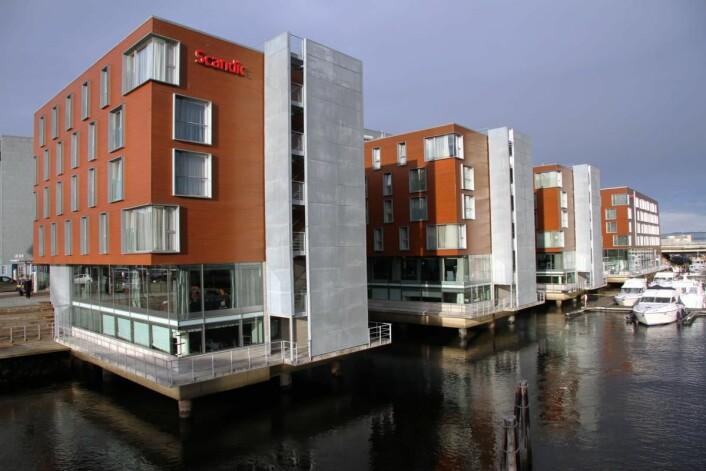 Scandic Nidelven er ett av mange hoteller som tidligere var i Rica-porteføljen. (Foto: Morten Holt)