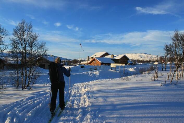 Hovden Fjellstoge. (Foto: Henrik Langeland)