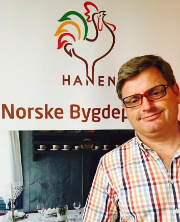 Daglig leder i Hanen, Bernt Bucher-Johannessen. (Foto: Hanen)
