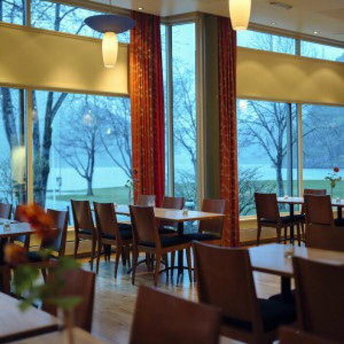 Restauranten på Klingenberg Hotel.