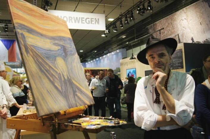 Munch presenterer Oslo-regionen (Foto: Mary Tønder Vold, Fylkesmannen i Oslo og Akershus)