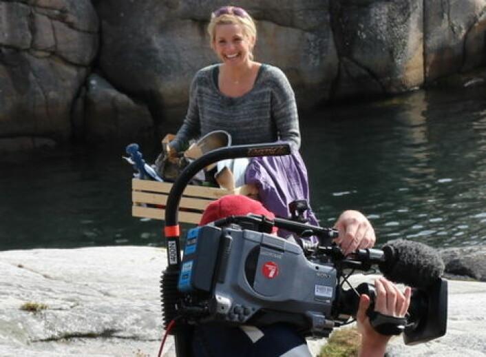 TV-kokken Tina Nordström har vært med på å utforme Best Westerns nye frokost. (Foto: Arkiv)