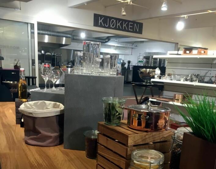 Det nye Storkjøkkenhuset i Bergen.