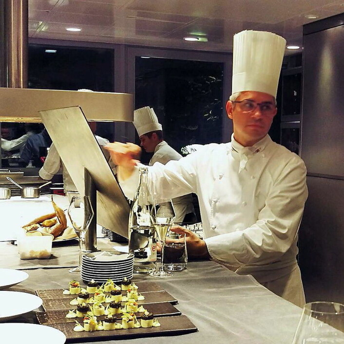 Benoît Violier (44) var regnet som en av verdens aller beste kokker. (Foto: Sven Erik Renaa)