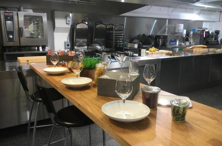 Et nytt kompetansesenter for storkjøkken i Bergen.