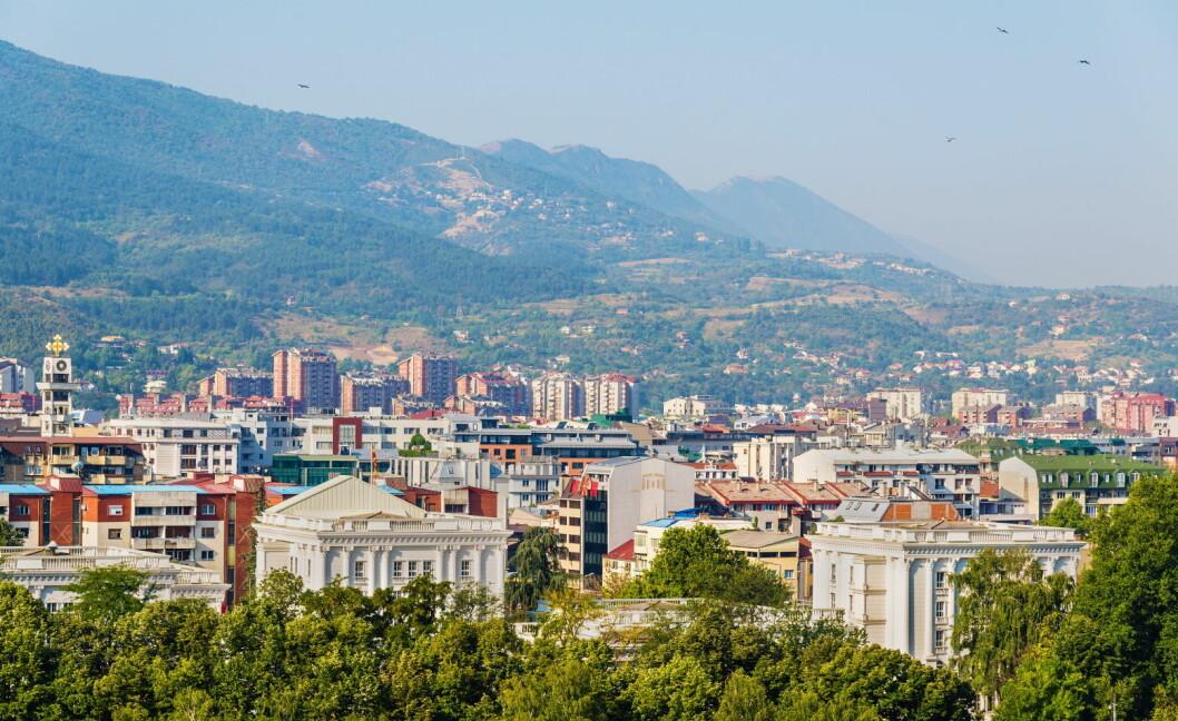 Fra Makedonias hovedstad Skopje. (Foto: Colourbox.com)