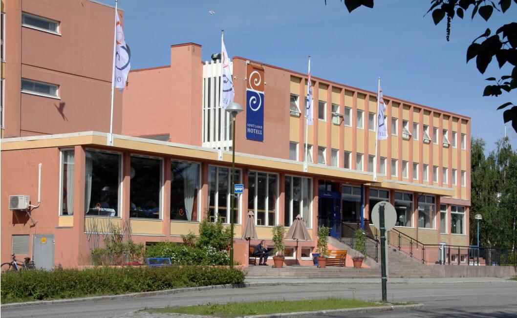 Sortland Hotell. (Foto: Morten Holt)