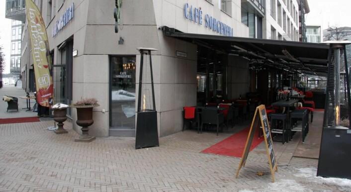 Café Sorgenfri er blant restaurantene som er med på Oslo Restaurantfest. (Foto: Morten Holt)